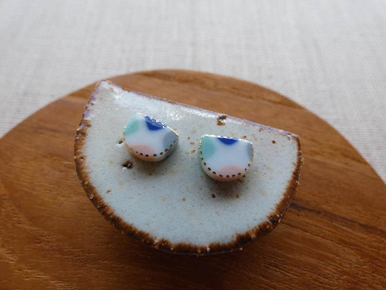 Earrings - Fragment Stud with Starburst