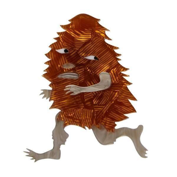Brooch - Banksia Man - May Gibbs