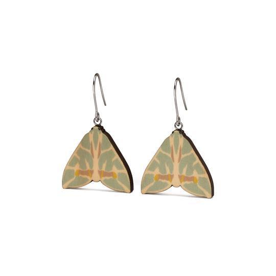 Earrings - Mini Jungle James Moths