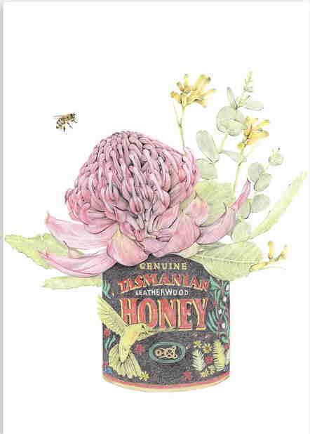 Print - A3 - Honey I'm Home