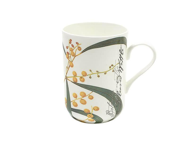 Wattle Gift Boxed Mug 300ml - Royal Botanic Garden