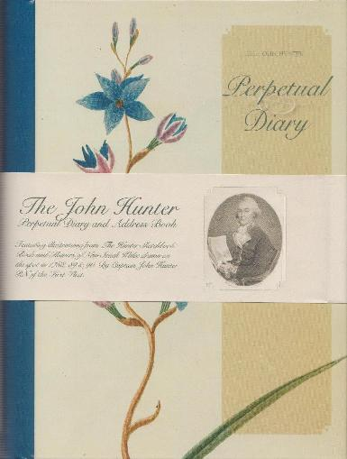 John Hunter Address Book and Perpetual Diary Set