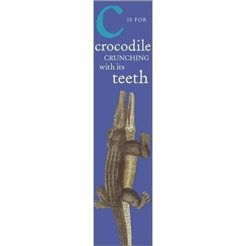 Bookmark-28026, Bugs and Beasts - Crocodile