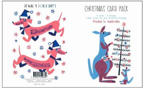 Christmas Card Pack 2 - Anthony Harvey