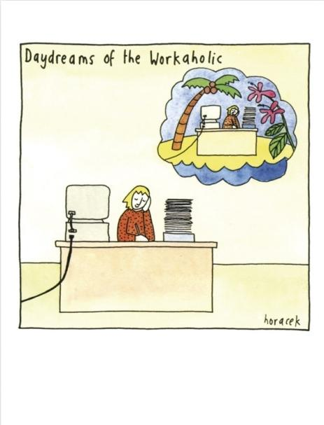 Card - Daydreams of a Workaholic