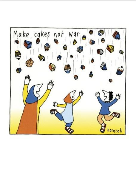Card - Make Cakes Not War