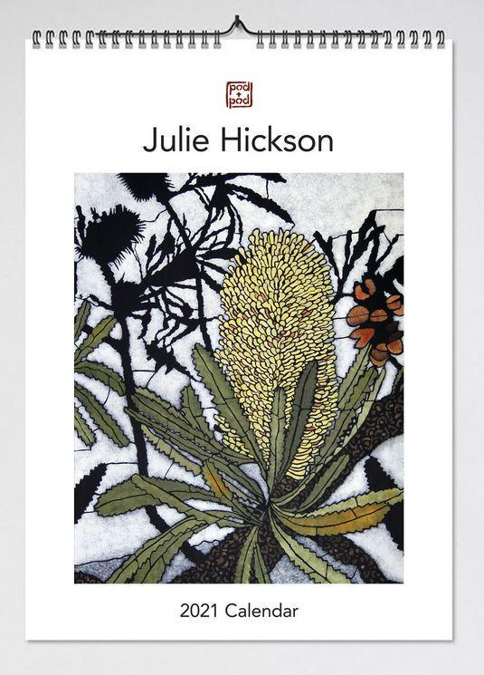 2021 Julie Hickson Wall Calendar