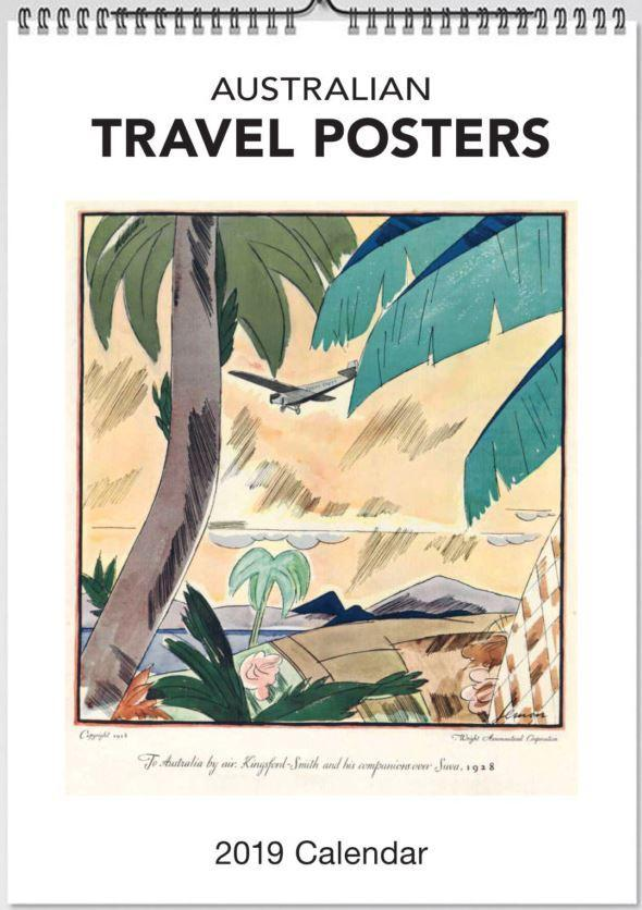 2019 Travel Posters Wall Calendar
