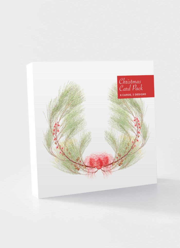 Christmas Card Pack Native Plants