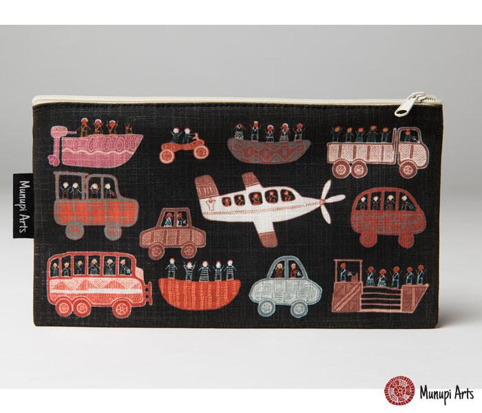 Cotton Zip Bag - Debbie Coombes