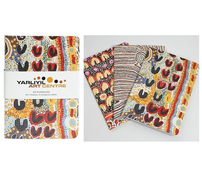 Yarliyil Arts - Set of 3 A6 Notebooks
