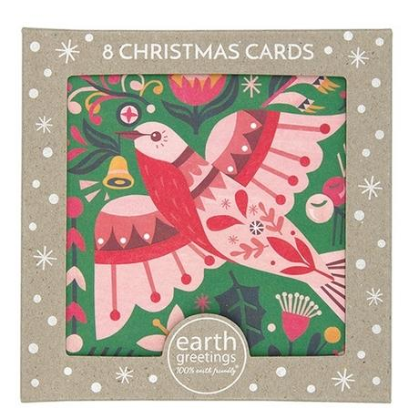Christmas Card Pack - Flame Robin