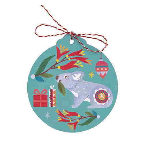 Christmas Gift Tags - Nature's Gifts - Set of 8