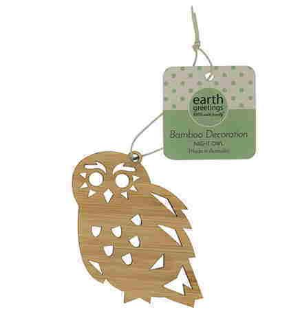 Bamboo Decoration - Owl