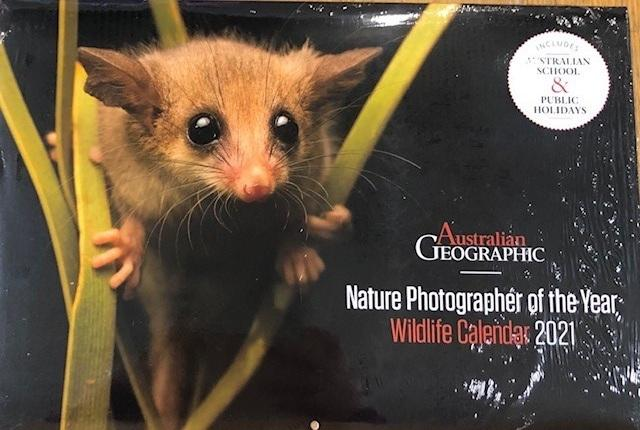Australian Geographic Nature Photographer of the Year Wildlife Calendar 2021