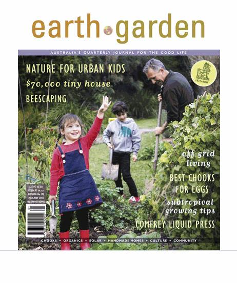 Earth Garden Magazine - All Issues