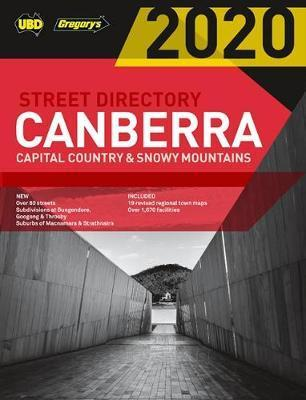 2020 Canberra Capital Country & Snowy Mountains Street Directory 24th ed