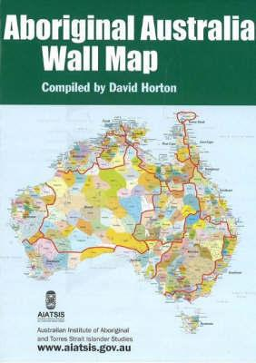 AIATSIS Aboriginal Australia Wall Map (Small Folded)