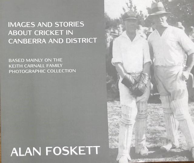 Images and Stories About Cricket in Canberra and Disctrict