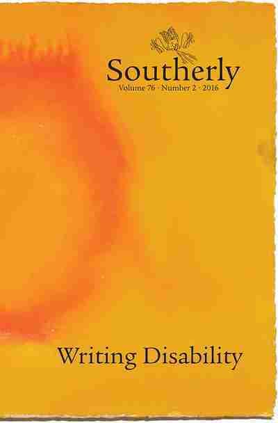 Southerly 76 - 2: Writing Disability