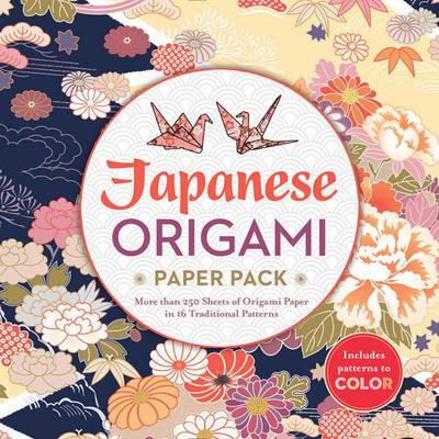 Japanese Origami Paper Pack - More Than 250 Sheets of Origami Paper in 16 Traditional Patterns