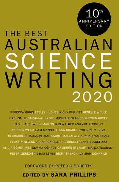 Best Australian Science Writing 2020