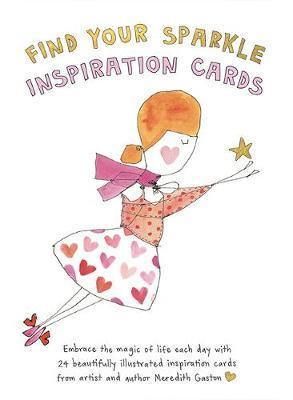 Find Your Sparkle Inspiration Cards - Embrace the magic of life each day with 24 beautifully illustrated cards