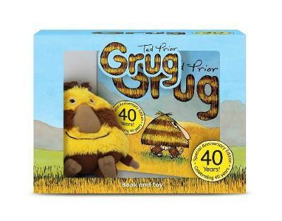 Grug 40th Anniversary Celebration Book and Plush Box