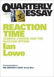 Quarterly Essay 27 - Reaction Time