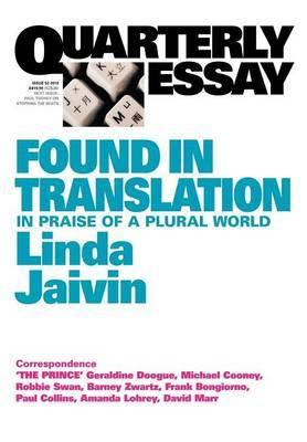 Quarterly Essay 52 - Linda Jaivin on Translation