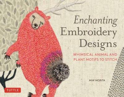 Enchanting Embroidery Designs - Whimsical Animal and Plant Motifs to Stitch