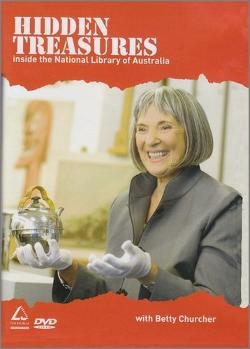 Hidden Treasures DVD Inside the National Library of Australia with Betty Churcher - AS654