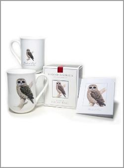 Boobook Owl Fine Bone China Cup - AS814