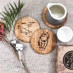 Animal Coasters: Round Coaster Pack