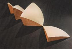 Treasures Gallery Merchandise - Postcard - Architects Model for the Geometry of the Sydney Opera House Shells - NL21053