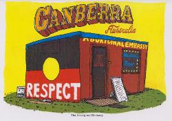 Aboriginal Embassy Greeting Card - Greetings from Canberra - Card 4
