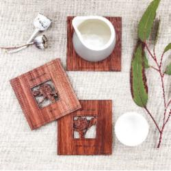 Wild Flower Coasters - Square Coaster Pack