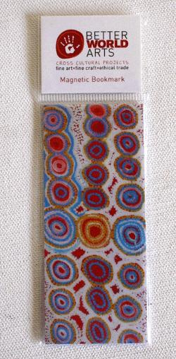 Magnetic Bookmark - Mingkiri Tjukurrpa