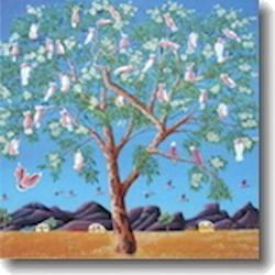 Small Card - The Pink Army (Australian Galahs)