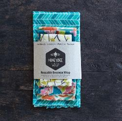 Honeybee Wrap Collection Pack - Set of 4 sizes