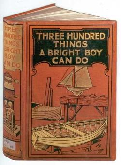 Card - Three Hundred Things A Bright Boy Can Do