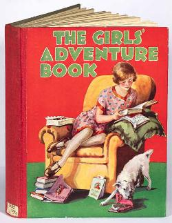 Card - Girls' Adventure Book
