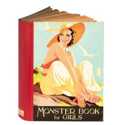 Monster Book For Girls - Greeting Card