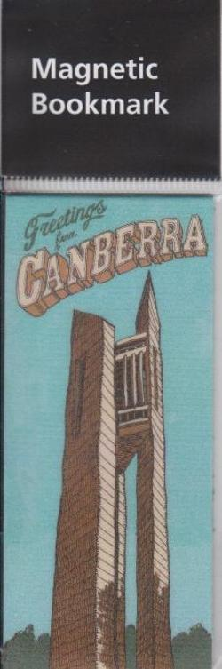 National Carillon Magnetic Bookmark - Newcastle Productions - WBMMTD11