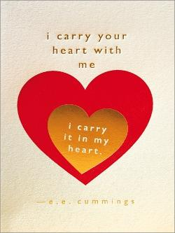 Card - I Carry Your Heart