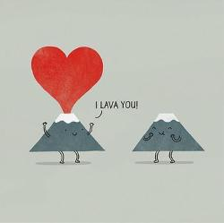 Card - Lava You