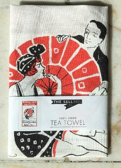 Tea Towel - Swallow & Ariell's - The Sell