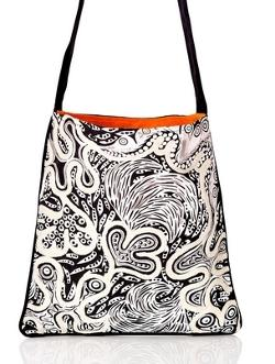 Canvas Tote - Desert Wildflowers - Medium