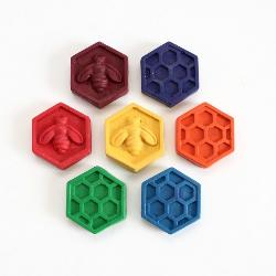 Honeycomb Crayons - Box of 7