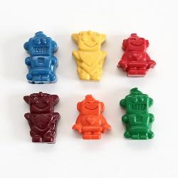 Robot Crayons - Box of 6